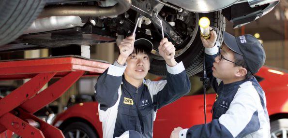 自動車整備科/2年